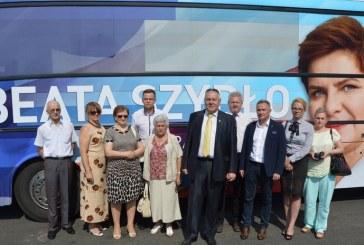 Brzeżanie na konwencji PiS w Katowicach