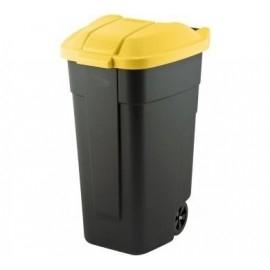 kosz - żółta klapa brzeg24