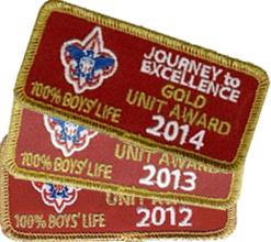 Gold Unit since 2012!