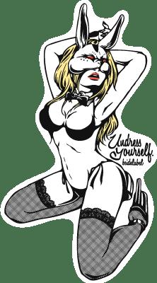 4686-シウチセクシーウサギ黒
