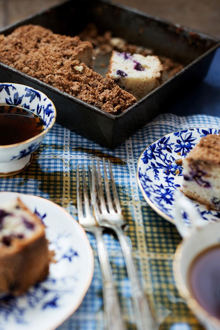 Blueberry Buttermilk Coffee Cake   bsinthekitchen.com #dessert #coffee ...