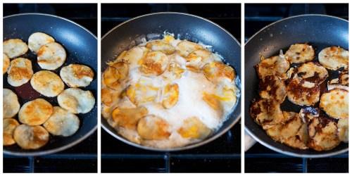 Scalloped Potato Grilled Cheese | bsinthekitchen.com #grilledcheese #sandwich #bsinthekitchen