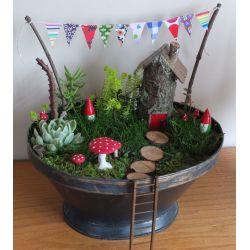 Astonishing By Fairy Gardens Fairy Gardens Bright Star Kids Fall Fairy Garden Ideas