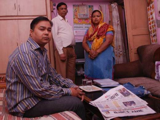 Former Maruti Suzuki worker Narender was rejected for a driver's job because he failed police verification