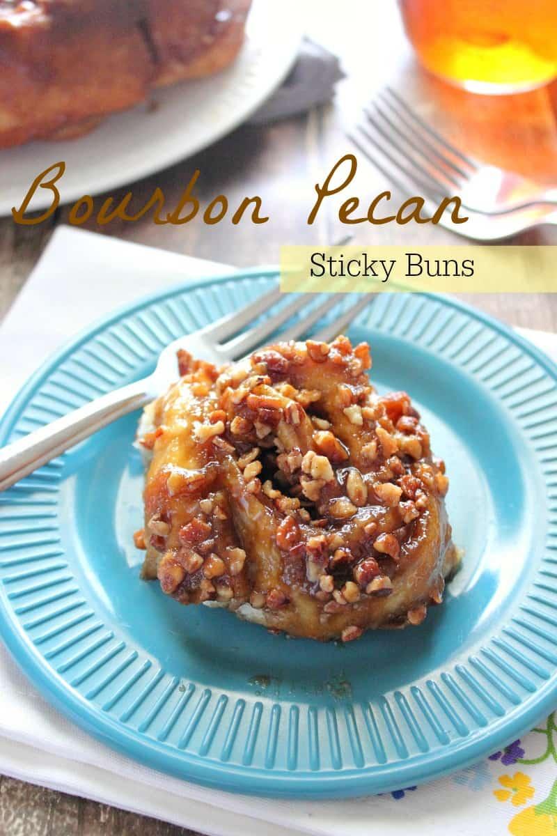 Bourbon & Pecan Sticky Buns