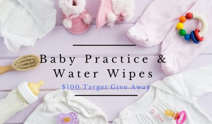 Baby Practice & Water Wipes