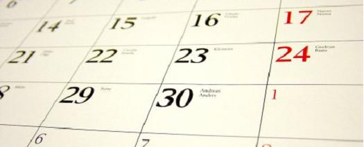 Calendar - Biannual, Semiannual, or Biennial?