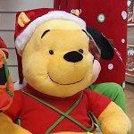Winnie the Pooh Santa Claus