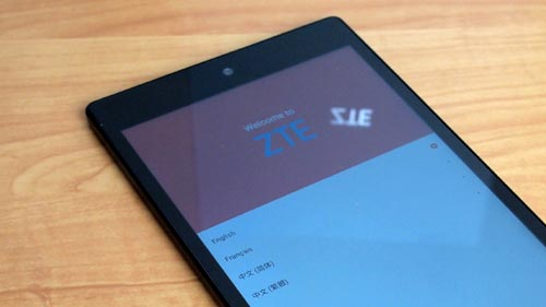 promotional zte tablet unboxing quite easy