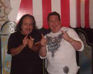 Mark with Ron Jeremy