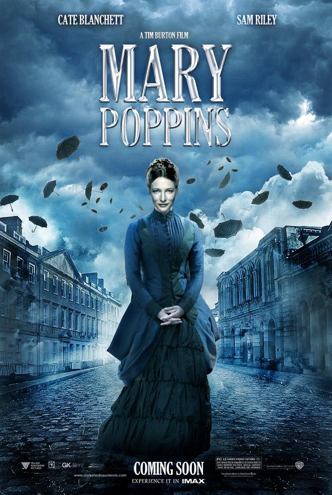 tim-burton Mary Poppins