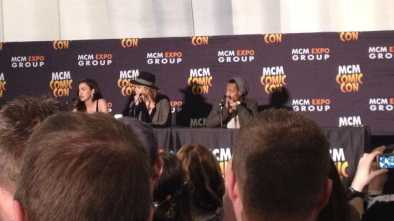 Walking Dead panel MCM comic con 2015