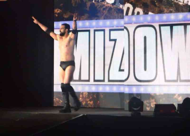 Mizdown WWE Live in the UK Manchester