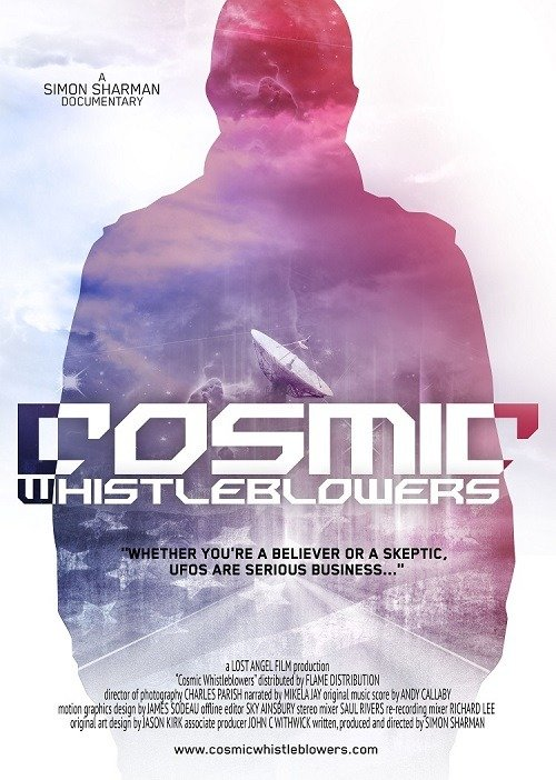 Cosmic-Whistleblowers OFFICAL POSTER