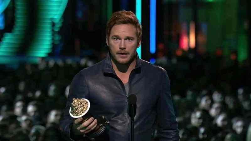 Chris Pratt Wins Best Action Performance Award