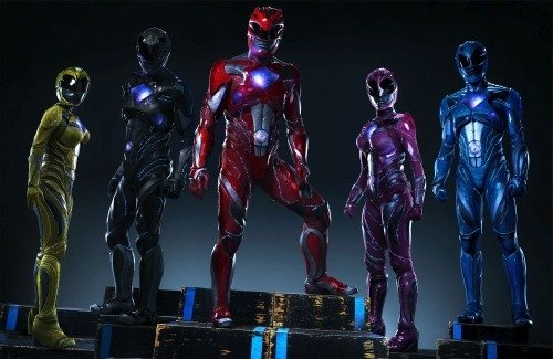 NEW Power Ranger Suits