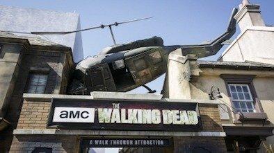 Universal Studios Opens Walking Dead Walkthrough Attraction