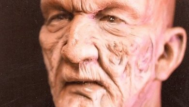 David Warner Make Up Test