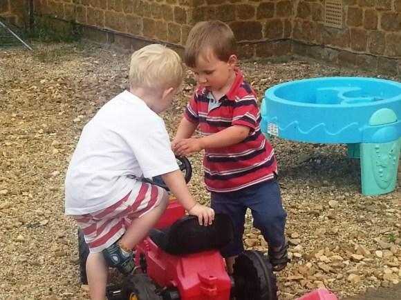 sharing toys