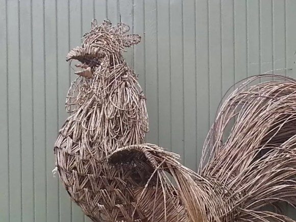 woven willow chicken at all wild things