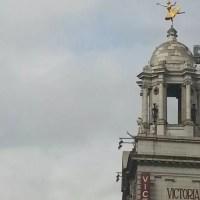 Victoria Palace ballerina statue
