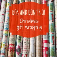 Dos and don'ts of Christmas gift wrapping