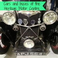 Visiting the Heritage Motor Centre, Gaydon