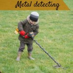 Metal detecting on the farm