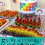 5 Quibbles with organising a child's birthday party