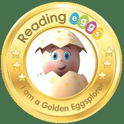 reading eggs golden eggsplorer badge