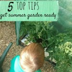 5 top tips to get a garden summer ready