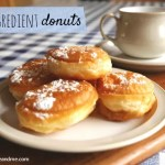 Easy, fast and delicious two ingredient donuts