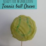 Getting ready for Wimbledon with Oreo tennis balls