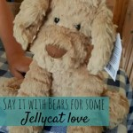 We're saying it with bears for some Jellycat love