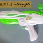The problem with water fights