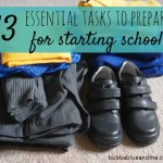 13 essential tasks for preparing children starting school