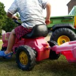 Living Arrows 2015 week 31 – tractor fun