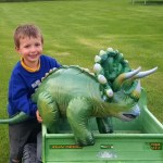Going back in time with Legends inflatable dinosaurs from Prezzybox