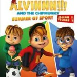 Alvinnn!!! and the Chipmunks Summer of Sport dvd giveaway