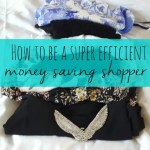 How to be a super efficient money-saving shopper