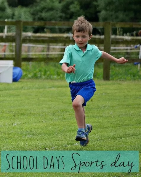 running race at sports day Jun 2016 - Bubbablue and me