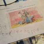 School days – Roald Dahl and homework