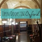 Exploring Oxford buildings at Open Doors weekend