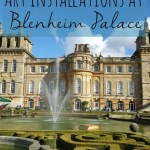 Autumn art installation at Blenheim Palace