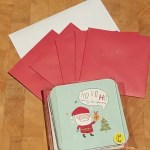 School days – writing Christmas cards