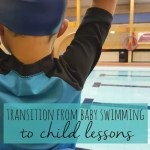 The big transition from baby and toddler swimming