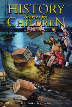 Cover pictures of the book History Stories for Children