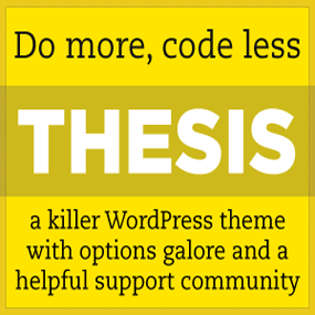 Cheap thesis theme designer