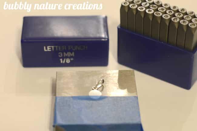 DIY Hand-Stamped Jewelry 1
