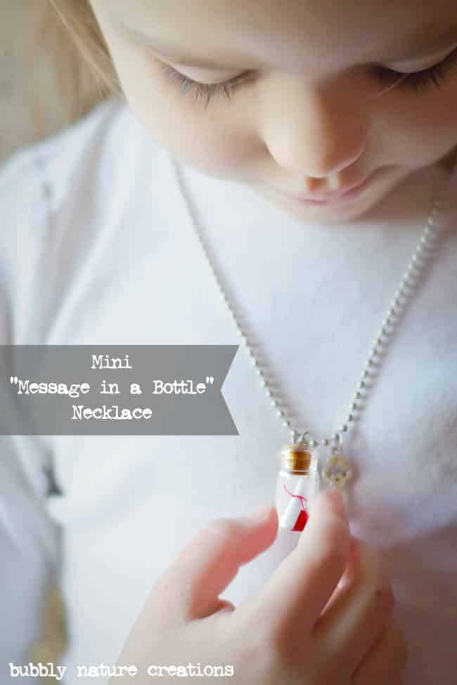 mini message in a bottle necklace 2